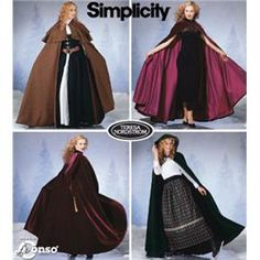 This Long Hooded Cloak Pattern is easy to make and is free! Video tutorial makes it easy to sew.simple seams and great for a variety of costumes. Perfect sewing project and beginner friendly. Simplicity Sewing Patterns, Sewing Patterns Free, Free Sewing, Cape Sewing Pattern, Sew Pattern, Sewing Box, Sewing Tips, Costume Patterns, Dress Patterns
