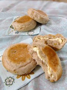 「胡桃とクリームチーズのライ麦平焼きパン♪」うさ・ぱん | お菓子・パンのレシピや作り方【corecle*コレクル】