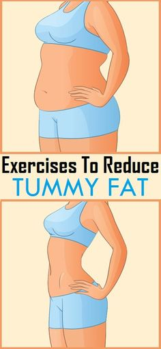 Simple Exercises to Reduce Tummy Fat at Home..