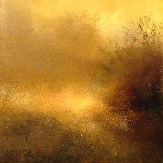 "Saatchi Online Artist: Maurice Sapiro; Oil, 2013, Painting ""Reflections In A Golden Pond "" #art"