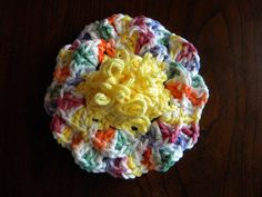 Lots of Crochet Stitches by M. J. Joachim: Loop Stitch Flower Power