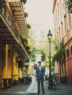 New Orleans wedding. #romantic