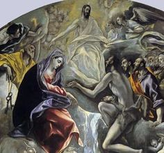 The Burial of the Count of Orgaz, El Greco, detalle Great Paintings, Beautiful Paintings, Creta, Spanish Artists, Italian Renaissance, Caravaggio, Italian Art, Golden Age, Art History