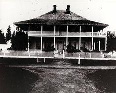 Vancouver Washington, Washington State, Grant House, Clark County, Historical Photos, Wwii, Columbia, Gazebo, Past