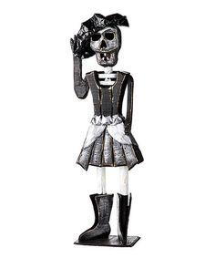 Another great find on #zulily! Skeleton Bride Statue #zulilyfinds