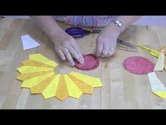 German Engineered Quilt Block? What's That? It's the Dresden Plate! Origin, Dresden Germany! 4 How To Make Videos - Page 4 of 5 - Keeping u n Stitches Quilting   Keeping u n Stitches Quilting