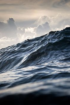 Wollongong-based Warren Keelan - a seascape and ocean photographer - submitted a series of powerful wave images (including 'The Great Beyond', pictured) in the 2015 International Landscape Photographer of the Year Awards, winning him a third placing. No Wave, Fuerza Natural, Stormy Sea, All Nature, Sea And Ocean, Ocean Ocean, Ocean Deep, Ocean Shores, Sky Sea