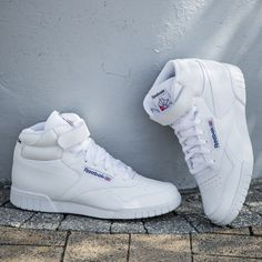 Buty REEBOK EX-O-FIT HI Vintage Style, Retro Vintage, Vintage Fashion, Tenis Basketball, Sports Shoes, Casual Shoes, Running Shoes, Shoes Sneakers, Fitness