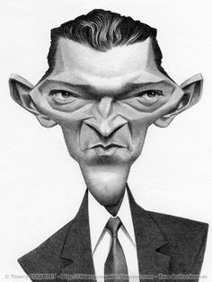 Caricatures by Thierry Coquelet