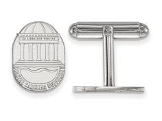 LogoArt Sterling Silver Coastal Carolina University Crest Cuff Link