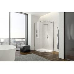 .idilusso dTEN 1 Door Offset Quad Left 800 x 1200mm. Sophistication designed around spaciousness and performance, with ergonomic invisible Spartan handle and wide aperture for easy access.