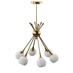 Brass Orb Sconce Etsy In 2020 Globe Chandelier Globe