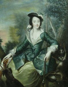 Catherine the Great of Russia by Grooth, c. 1745 #art #arthistory #history
