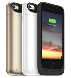 This time the company has presented all new three versions of the #Mophie Juice Packs of charging case. While two cases for the 4.7-inch #iPhone6, one is the biggest phablet 5.5-inch #iPhone6Plus