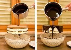 Questa Glassa è molto utile per ricoprire qualsiasi tipo di torta al cioccolato, sia essa da forno (es Sacher) o cremosa (es. Sette Veli). E' anche utile per ricoprire delle tortine (come ad esempi...