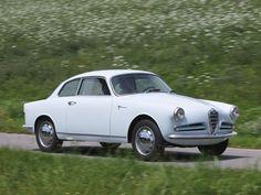 1956 Alfa Romeo Giulietta Sprint Veloce Alleggerita by Bertone