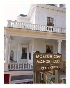 Moses Cone Mansion  near Blowing Rock, North Carolina