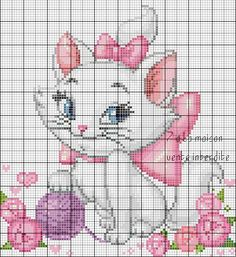 Free grid - the blog of 7th Heaven, cross stitch, knitting, free charts ...