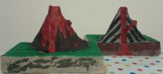 Cabrioles et Cacahuètes: Notre volcan en argile / clay volcano cross section Volcano, Montessori, Bullet Journal, Clay, Education, Outfits, Biology, Clays, Suits