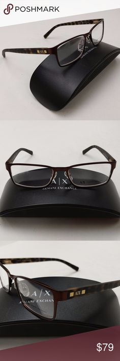 2d858404a14b Armani Exchange AX 1003 6016 Eyeglasses  EUG123 Frame is almost in  excellent condition