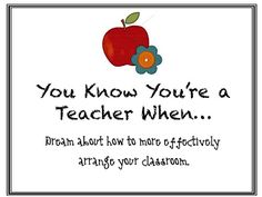 This just happened to me last week! Needless to say my classroom got changed the next morning. LOL