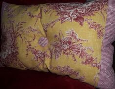 PillowsNStitches French Country Toile by PillowsNStitches on Etsy, $27.00