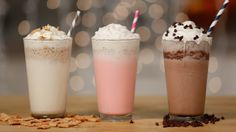 Make 2 of Starbucks's Secret-Menu Frappuccinos at Home: Previously only available via the secret menu, Starbucks's Cotton Candy and Cinnamon Roll Frappuccinos were on the official drink roster last Summer, but now you can make them at home any time a craving strikes.