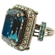 LANVIN Rock Stone Ring - love the moody essence of this ring