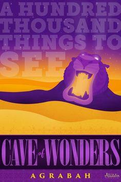 Things to see in Agrabah: The Cave of Wonders New Disney Movies, Disney Nerd, Pixar Movies, Disney Girls, Disney Pixar, Walt Disney, Disney Memes, Disney Villains, Disney Princesses