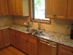 antico granite | ... & Spice To Your Kitchen With A Bianco Antico Granite Countertop