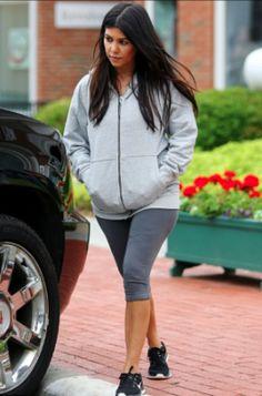Kourtney Kardashian pregnancy and maternity fashion by Talia Hancock on Dirt from the Playground!