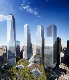 BIG reveals addition to NYC skyline with stepped 2 world trade center