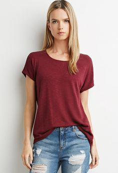Drapey Textured Knit Blouse | Forever 21 - 2000079174