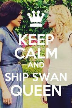 Keep calm and... ship Swan Queen!!!