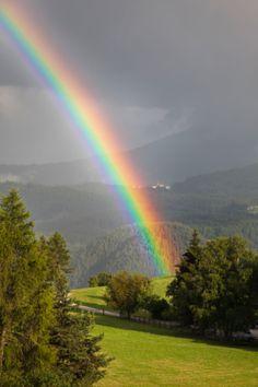 Rainbows are so beautiful...