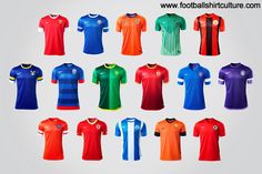 Nike China Football Super League 2013 Team Kits! Amazing!