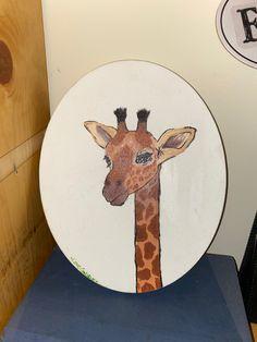 Forest Green Bedrooms, Bedroom Green, Giraffe, Moose Art, Animals, Felt Giraffe, Animales, Animaux, Giraffes