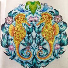 Inspirational Coloring Pages by Giovana Laterza #inspiração #coloringbooks #livrosdecolorir #jardimsecreto #secretgarden #florestaencantada #enchantedforest #reinoanimal #animalkingdom #adultcoloring #milliemarotta #lostocean #oceanoperdido #johannabasford