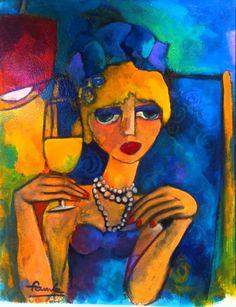 Artodyssey: Fauve - Martine Dechavanne Roannaise
