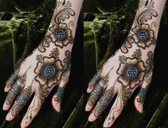 Awesome Mehndi Designs For Brides 4