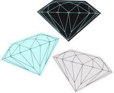 Diamond Supply Co. Brilliant Vinyl Stickers