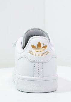 adidas Originals STAN SMITH - Sneakers laag - weiß/gold - Zalando.be