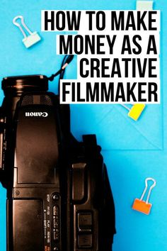How to make money as a Creative Filmmaker How to make creative film . - How to make money as a Creative Filmmaker How To Make Money As A Creative Filmmaker Tips T - Filmmaking Quotes, Documentary Filmmaking, Film Logo, Film Maker, Film Tips, Video Film, Videos Video, Coaching, Film Studies