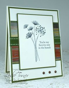 Card I created using cardstock, papers, stamps and ribbon from the new Gina K Designs Grateful Heart StampTV kit! Fabulous stuff - I'm in love! :)