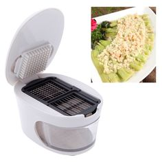 Shopo's 3 in 1 #garlic Press cutter is made up of high quality mater which has the #blades to get the Garlic into different shapes. The garlic press can cut the garlic into different styles which provides grating, slicing and #chopping of garlic. It can not only be used for garlic but also can be used for #chillies and #ginger.