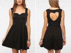 Cute Prom Dress,Black Chiffon Prom Dresses,Short Prom Dress