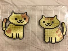 Neko Atsume perler beads by serenitystitches