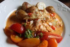 Fiskgratäng med Ajvar o Mozzarella