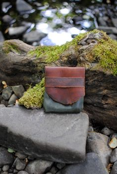 Forest Light Traveler Eco Leather Pouch by belight on Etsy, $33.00