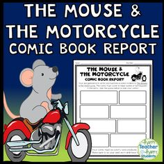 The Mouse and the Motorcycle Project: Design a Comic Strip Book Report Activity Up Book, Book Club Books, Kid Books, Book Clubs, Teaching Social Studies, Teaching History, History Education, Teaching Resources, Class Library